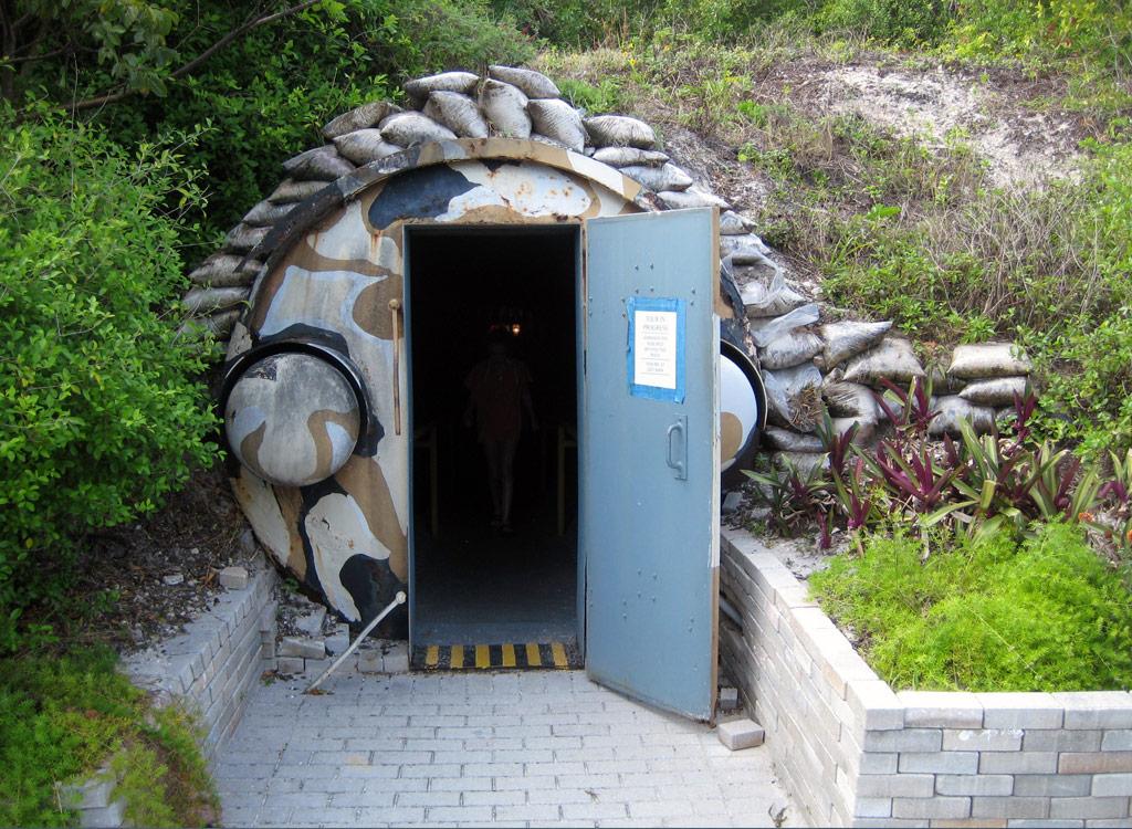 Bunker on Peanut Island