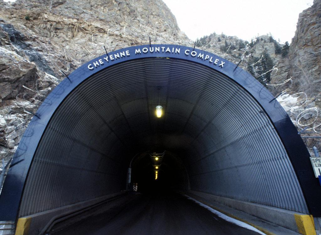 Raven Rock NORAD Entrance