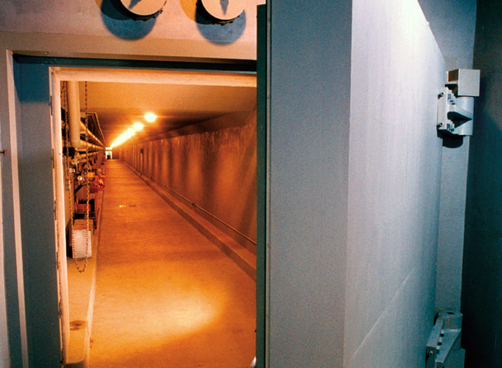 The Greenbriar Hotel Bunker Door